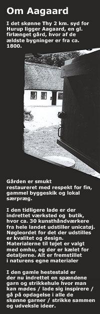 Kunstnerbesøg 14.9 på Aagaard, Thy. 30 kunsthåndværkere udstiller. Niels Kirk fortæller om stedet og dets visioner
